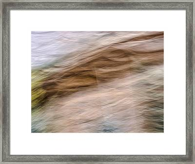 Zion Fall Abstract Framed Print