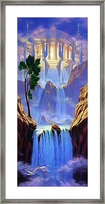 Zion Framed Print by Jeff Haynie