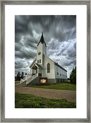 Zion Luthern Church Framed Print by Thomas Zimmerman