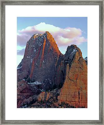 Zion National Park , Utah Framed Print