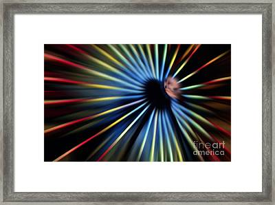 Zippity Zoom Framed Print by Darren Fisher