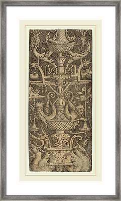 Zoan Andrea Italian, Active C. 1475-1519 Framed Print
