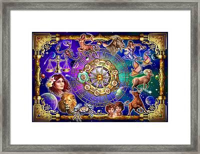 Zodiac 2 Framed Print by Ciro Marchetti