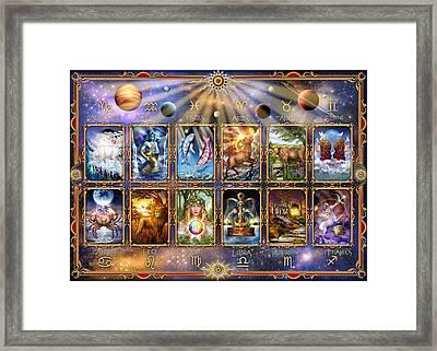 Zodiac 3 Framed Print by Ciro Marchetti