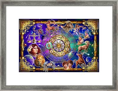 Zodiac Framed Print by Ciro Marchetti