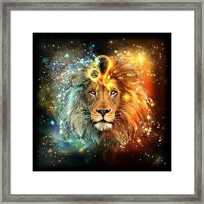 Zodiac Leo Framed Print by Ciro Marchetti
