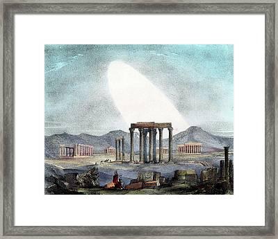 Zodiacal Light Framed Print by Universal History Archive/uig