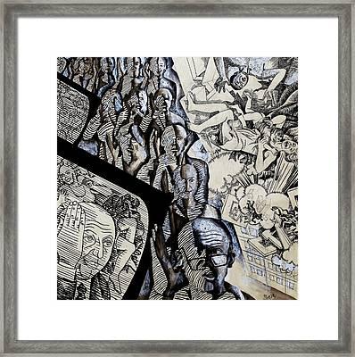 Zombie Electorate Framed Print by Ivan Koretnikov