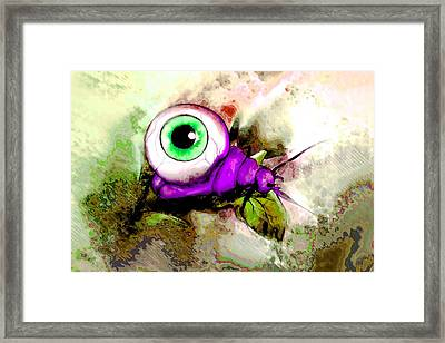 Zombie Insect Framed Print by Jenni Mitkovic