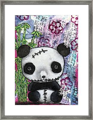 Zombiemania 2 Framed Print