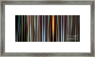 Zone With Feeling Framed Print by J Burns