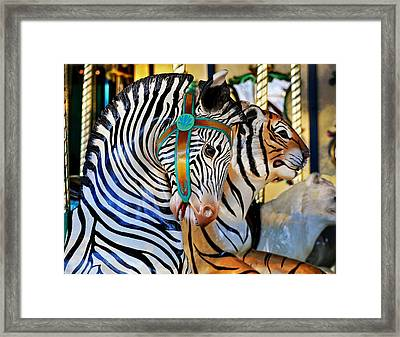 Zoo Animals 2 Framed Print by Marty Koch