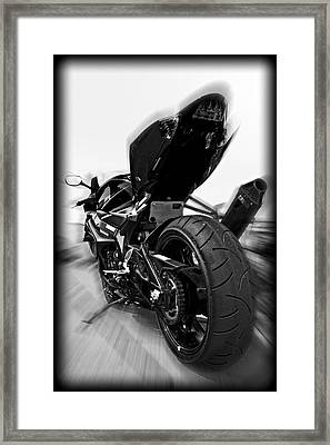Zoomed Gsxr Framed Print