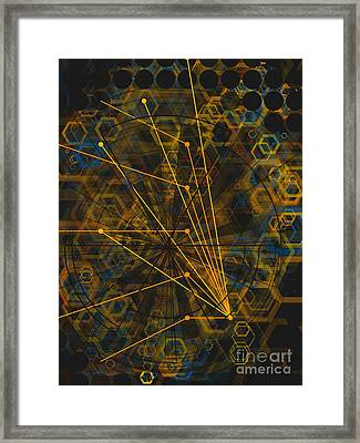 Zorg Framed Print by Jose Benavides