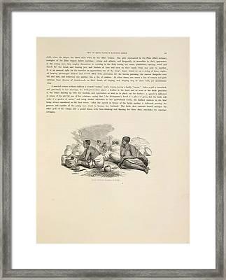 Zulu Women Framed Print by British Library