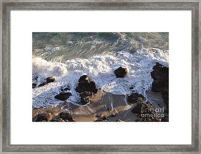 Zuma Beach Framed Print by Gandz Photography