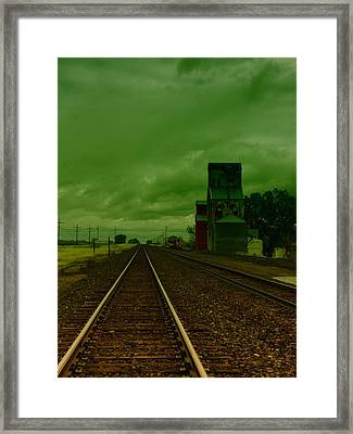 Zurich Montana Framed Print by Jeff Swan