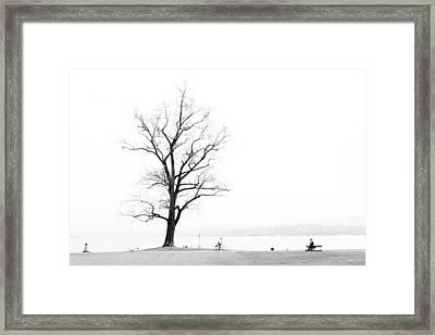 Zurich Framed Print by Pedro Nunez