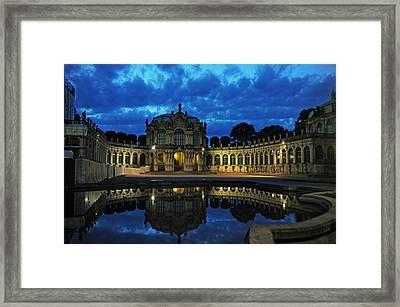 Zwinger Dresden Germany Framed Print