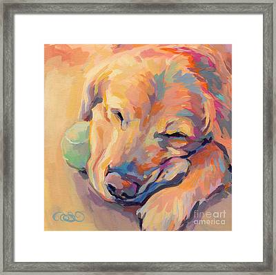 Zzzzzz Framed Print by Kimberly Santini