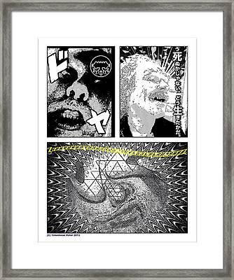 Zzzzzzzz Comix Framed Print by Tobeimean Peter