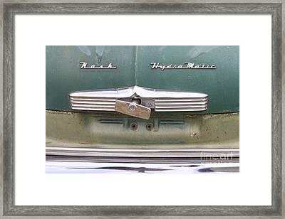 1951 Nash Ambassador Hydramatic Back Framed Print by James BO  Insogna