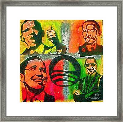 4 Barack  Framed Print by Tony B Conscious