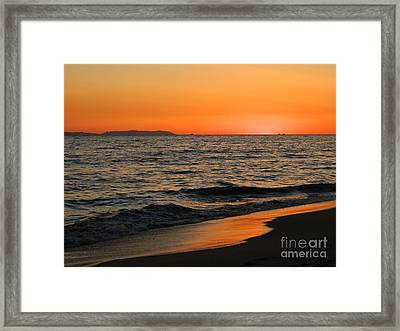 Framed Print featuring the photograph  75 Degrees by Everette McMahan jr