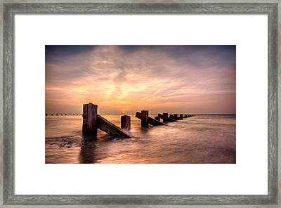 Abermaw Sunset Framed Print