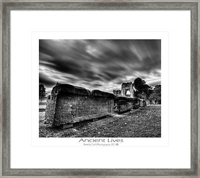 Ancient Lives Framed Print