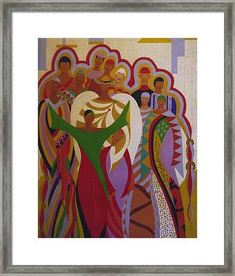 Angel In The City Framed Print by Leo Price