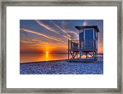 Anticipation Of Summer Framed Print by At Lands End Photography