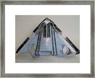 Architecture  Reconstruction Framed Print by Alfred Ng
