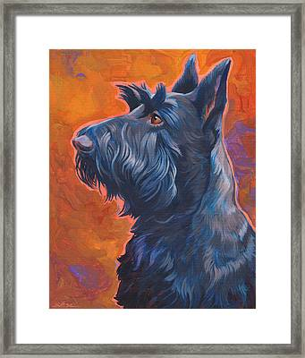 Beam Me Up Scottie Framed Print