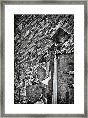 Boat Propeller Framed Print by Stelios Kleanthous