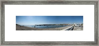 Bugibba Harbour Malta Framed Print by Guy Viner