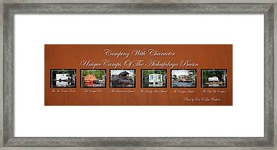 Camps Of The Atchafalaya Basin Framed Print