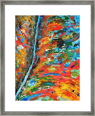 Canyon River Framed Print by Everette McMahan jr
