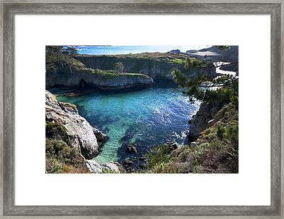 China Cove Framed Print by Mike Herdering