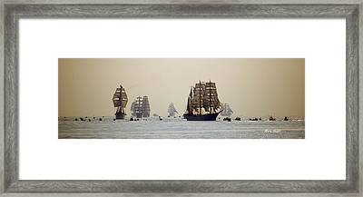 Colossal Vessels Framed Print