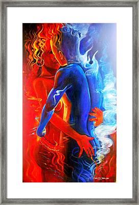 Cosmic Harmonium Framed Print