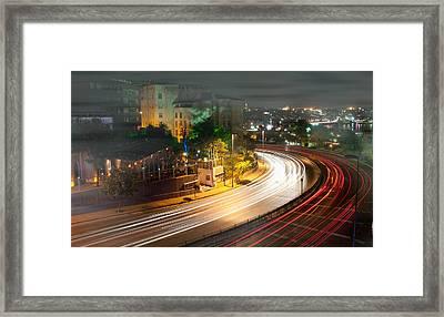 Curve Light Framed Print by Okan YILMAZ