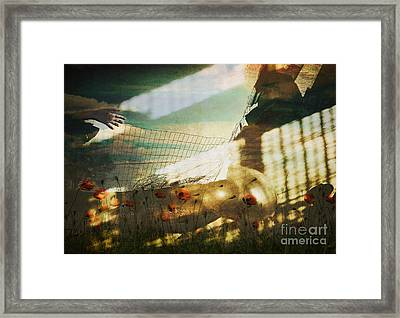 Framed Print featuring the digital art . by Danica Radman