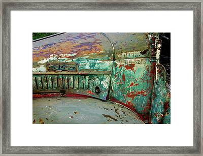 Dodge Framed Print