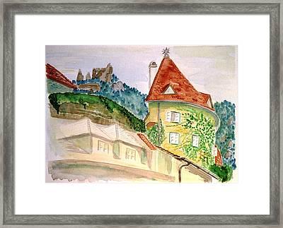 Duernstein Framed Print