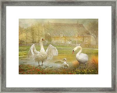 Early Preparations Framed Print