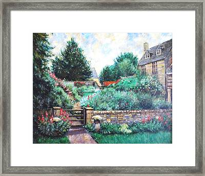 English Country Home 1 Framed Print by    Armand  Storace