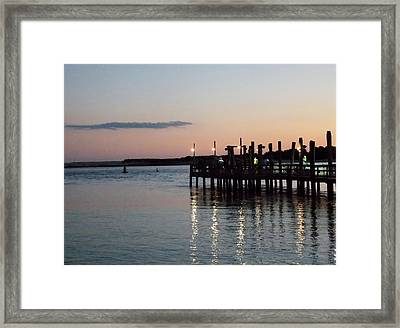 Evening Sunset Framed Print by Angelika MacDonald