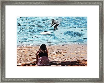 Freedom Framed Print by Tilly Williams