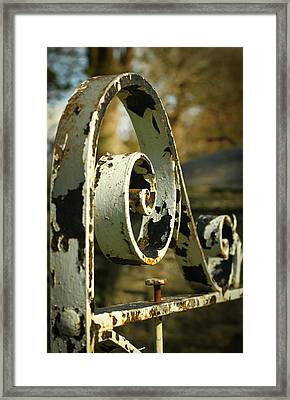 Iron Gate Framed Print by Jacqui Collett
